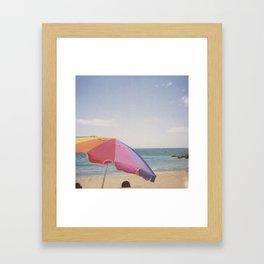 Beach! Framed Art Print