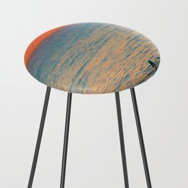 Lonesome Swan Counter Stool