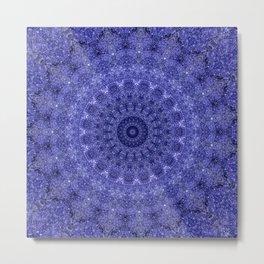 Cosmos Mandala III - Arabian Nights Metal Print