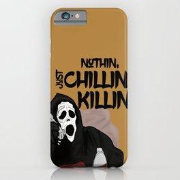 Scream killer iPhone Case
