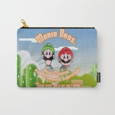 Super Mario Bros. Drain Cleaning & Plumbing Service Carry-All Pouch