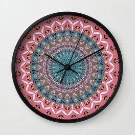 Sweet Elegant Boho Mandala Wall Clock