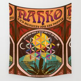 Nahko & Medicine for the People | Fan Made Poster Wall Tapestry