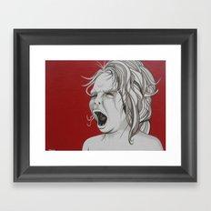 I Do What I Want Framed Art Print