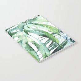 Tropical Palm Leaves Notebook
