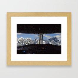 THE EVEREST Framed Art Print