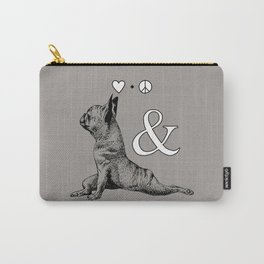 LOVE PEACE AND YOGA Carry-All Pouch