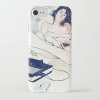 freedom iPhone & iPod Cases featuring Nothing to say by Anton Marrast