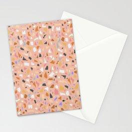 Terrazzo arlecchino Stationery Cards
