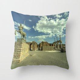 Pompei Centaur Throw Pillow
