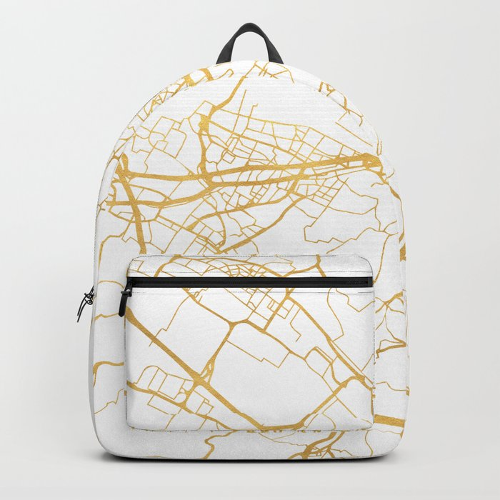 FLORENCE ITALY CITY STREET MAP ART Backpack