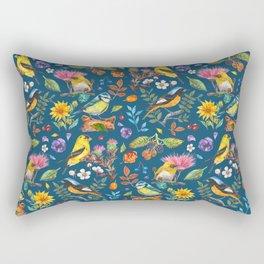 Birds Nature - BBG Rectangular Pillow