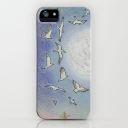 Earth Speaks iPhone Case