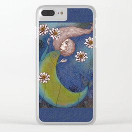 The Mermaid's Lake Clear iPhone Case