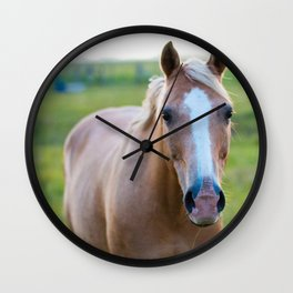 Silver II Wall Clock