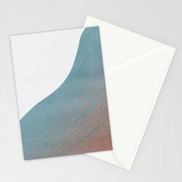 Minimal boho wave print Stationery Cards