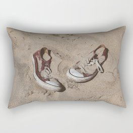 Sand in Your Shoes Rectangular Pillow
