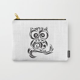 Owl Leaves Carry-All Pouch