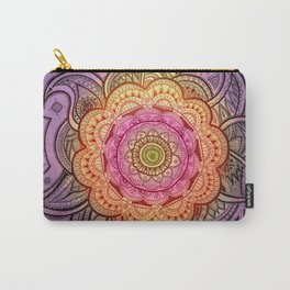 Colorful Mandala Carry-All Pouch