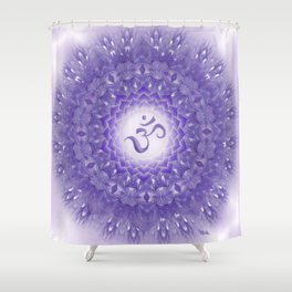 Sahasrara Mandala  Shower Curtain