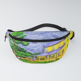 House and Barn in West Grove Fanny Pack
