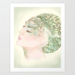 Salacia, Queen of Mermaids Art Print