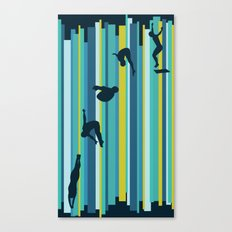 Olympic Diving Canvas Print