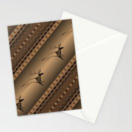 Elk Spirit (Brown) Stationery Cards
