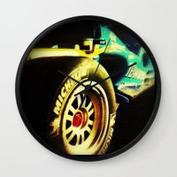 formula 1 Wall Clocks featuring Formula 1 by frenchtoy