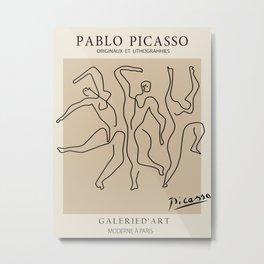 Picasso Dancers Metal Print