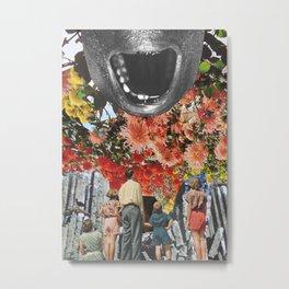 The Scream by Zabu Stewart Metal Print