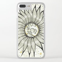 Flora Luna Clear iPhone Case