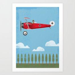 The Red Baron Art Print