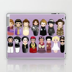 Kokeshis Women in the History Laptop & iPad Skin