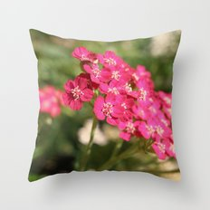 Pretty in Pink. Throw Pillow