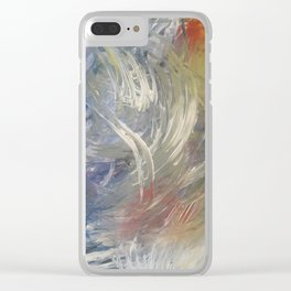 Filling the Void Clear iPhone Case