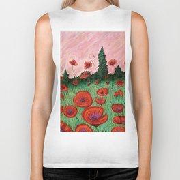 Fields of Red Biker Tank
