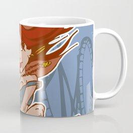 Rollercoaster Redhead Coffee Mug