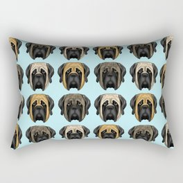 Mastiff Trio Rectangular Pillow