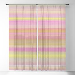 Lively art 213 Sheer Curtain