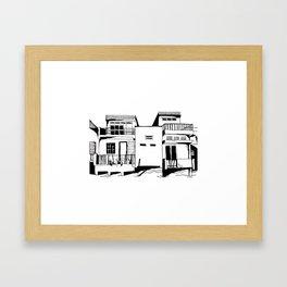 Mékong Riverside Framed Art Print