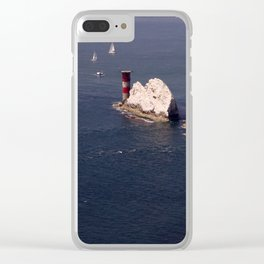 The Needles Clear iPhone Case