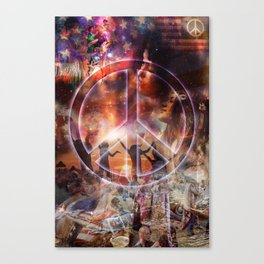 Woodstock Peace Canvas Print