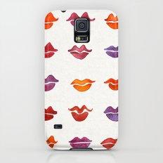 Watercolor Kisses Galaxy S5 Slim Case