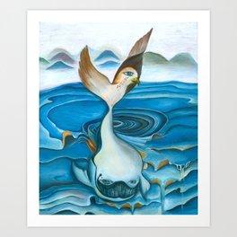 Whale | Transformation Art Print