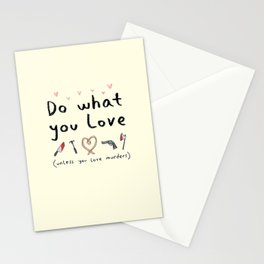 Motivational Poster Stationery Cards