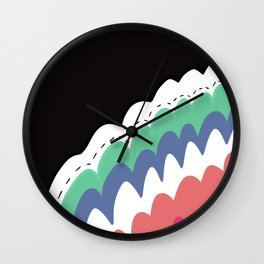 Clound Wall Clock