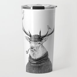 Wild Thinking Travel Mug