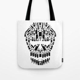 Skull Vape Accessoires | Vaper Vaping E-Cigarette  Tote Bag