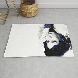 Dorothy Dandridge : Blue Sparkle Rug